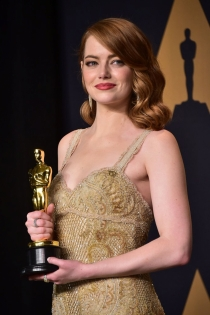 Emma Stone y su Oscar a la mejor actriz