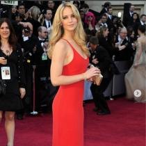 Jennifer Lawrence repasa su looks en los Premios Oscars