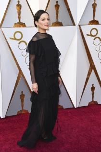Natalia Lafourcade elige el negro para los Oscars 2018