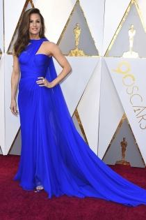 Jennifer Garner, de azul klein en los Oscars 2018