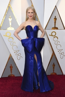 Oscars 2018: El original look de Nicole Kidman