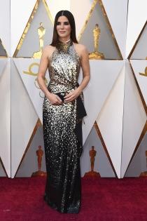 Sandra Bullock, muy elegante de los Oscars 2018