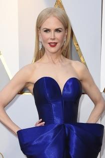 El elegante escote de Nicole Kidman para los Oscars 2018