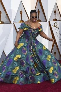 Whoopi Goldbeg dando la nota en los Oscars 2018