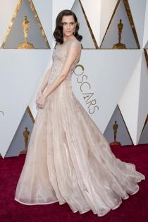 El vestido ganador de Allison Williams en los Oscars 2018