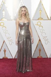 Jennifer Lawrence, una de las mejores vestidas de los Oscars 2018