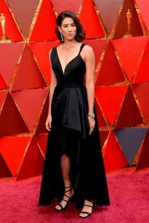 Oscars 2018: La elegancia del look de Garbiñe Muguruza
