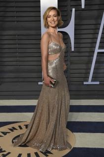 Olivia Wilde, muy elegante en la fiesta Vanity Fair tras los Oscars 2018