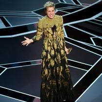 Frances McDormand y su poderoso discurso feminista en los Oscars 2018
