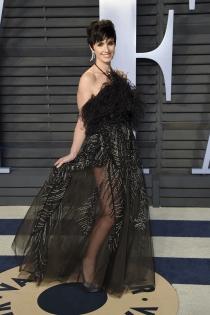 Paz Vega, glamourosa en la fiesta de Vanity Fair