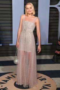 Margot Robbie, deslumbrante en la fiesta post Oscars 2018