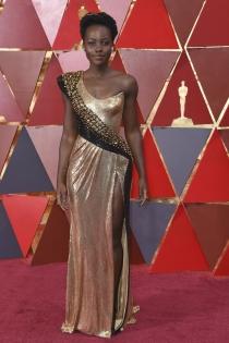 Oscars 2018: Lupita Nyong'o, como una diosa