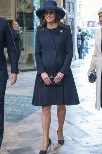 La elegancia de Kate Middleton, embarazada de su tercer hijo