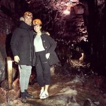 Cristiano y Georgina, amor bajo tierra