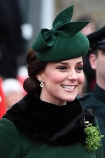 El tocado verde de Kate Middleton por San Patricio