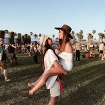 Dulceida y Alba Paul no se pierden el festival Coachella