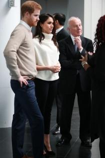 Meghan Markle y el príncipe Harry apoyan los eventos solidarios
