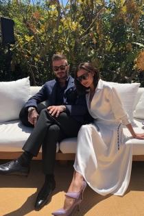 Victoria disfruta de su cumpleaños junto a David Beckham