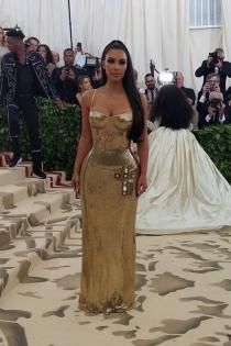 Kim Kardashian se viste de lentejuelas para la Gala Met 2018