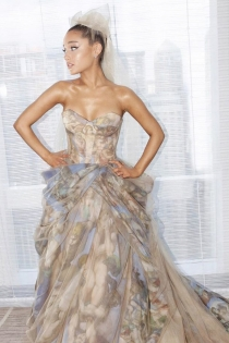 Ariana se viste de la Capilla Sixtina para la Gala Met 2018