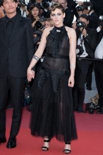 Kristen Stewart, fiel a su estilo en el Festival de Cannes 2018