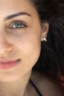 Hiba Abouk sube una foto sin maquillaje y deslumbra
