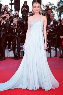 Diane Kruger y su apuesta para el Festival de Cannes 2018