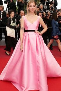 Chiara Ferragni, de rosa en el Festival de Cannes 2018