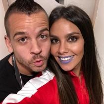El selfie de Cristina Pedroche y David Muñoz