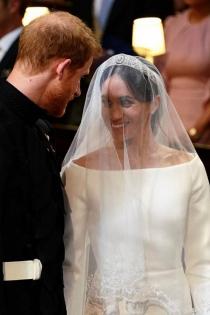 El vestido de novia de Meghan Markle en su boda