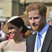 La primera aparición de Meghan Markle y el príncipe Harry tras su boda