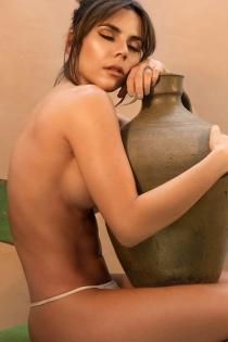 Carolina Gaitán se desnuda en las redes sociales
