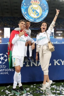 Georgina celebra los éxitos de Cristiano como los suyos
