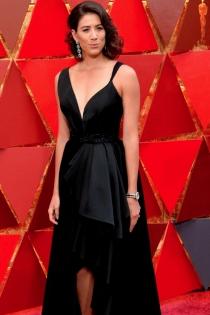 El impresionante vestido de Garbiñe Muguruza en los Oscars 2018
