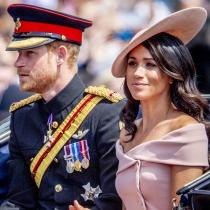 Meghan Markle y el príncipe Harry forman una bonita pareja