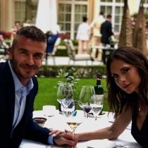 Victoria y David Beckham celebran su aniversario