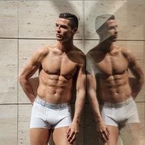 Cristiano Ronaldo, puro músculo