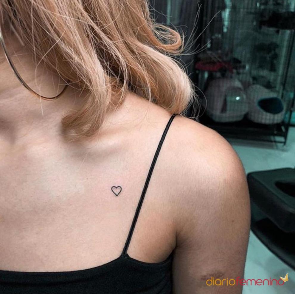 El significado de los tatuajes de corazones: puro amor