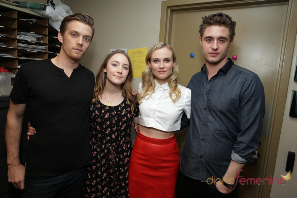Jake Abel, Saoirse Ronan, Diane Kruger y Max Irons de 'La huésped (The Host)'