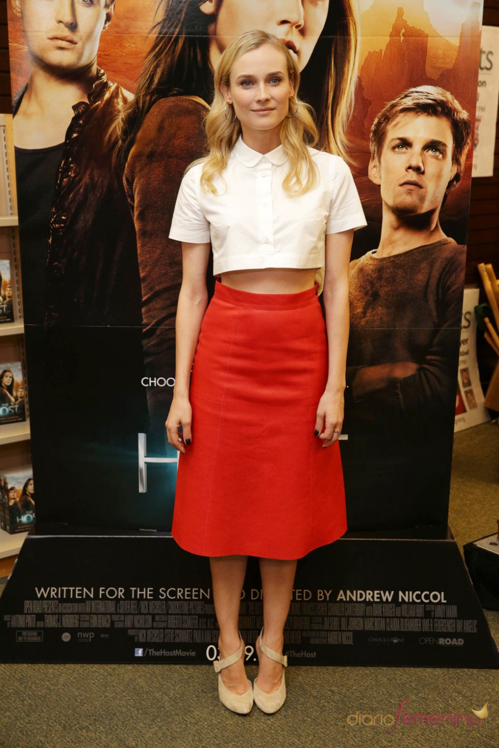 Diane Kruger, protagonista de 'La huésped (The Host)'