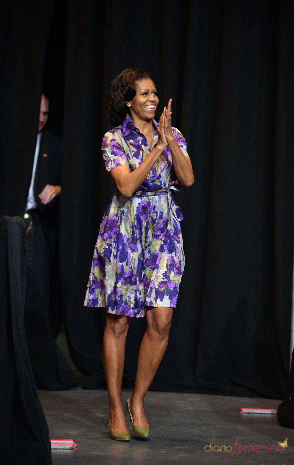 Michelle Obama apuesta por las flores