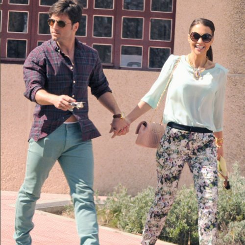 Paula Echevarría y David Bustamante: una pareja a la moda