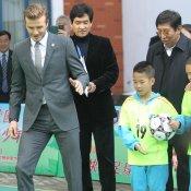 David Beckham: el gris es su color