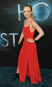 Francesca Eastwood en el estreno de 'The Host' en Los Ángeles