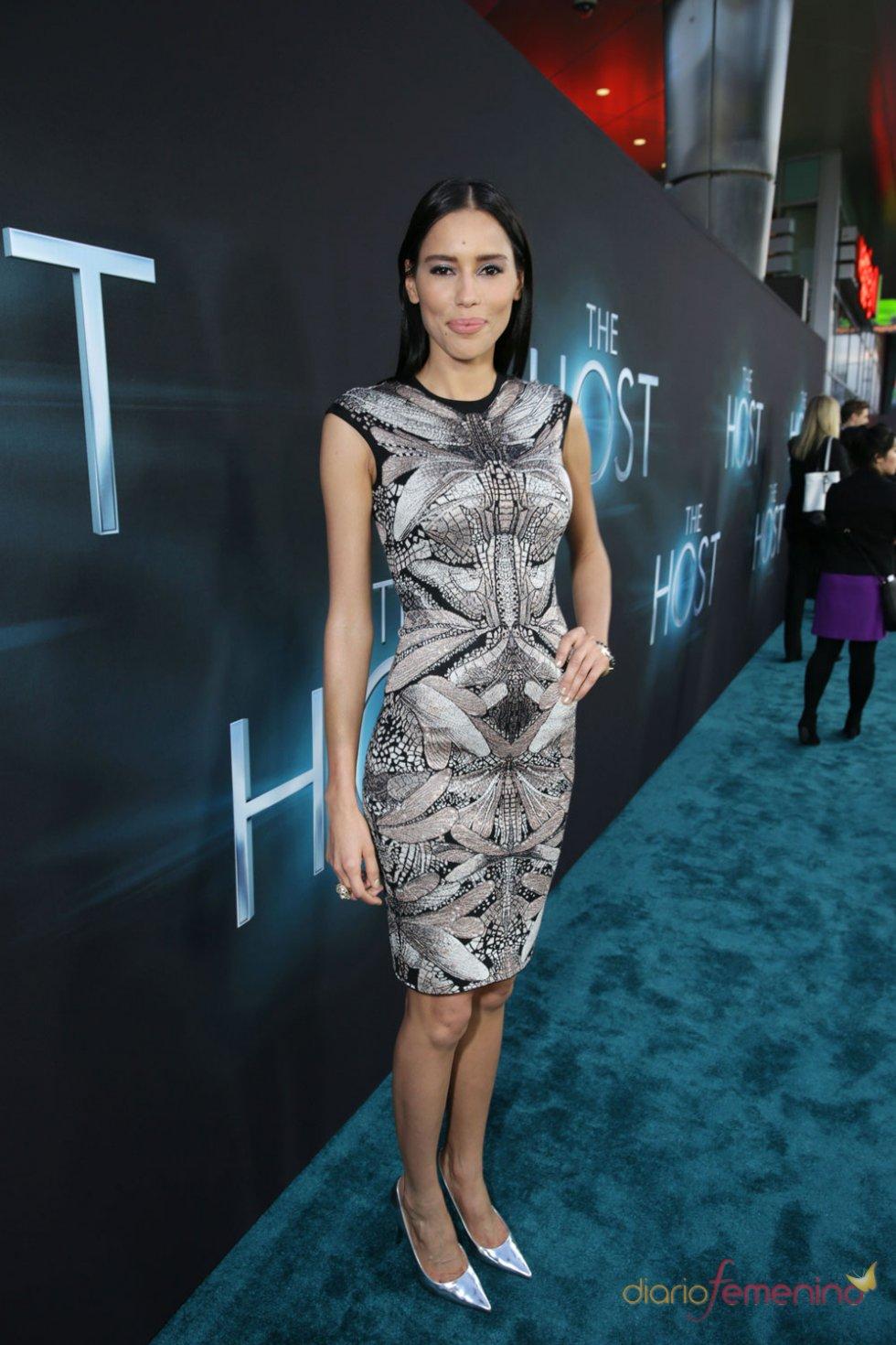 Rebecca Da Costa en el estreno de 'The Host' en Los Ángeles