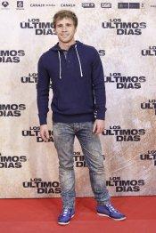 El actor Bernabé Fernández en la premiere de 'Los últimos días'