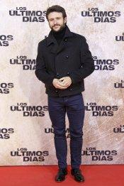 El actor Diego Martín en la premiere de 'Los últimos días'