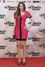 La actriz Elena Ballesteros en la premiere de 'Los últimos días'
