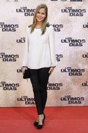 La actriz Natalia Sánchez en la premiere de 'Los últimos días'
