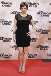 La actriz Nausicaa Bonnin en la premiere de 'Los últimos días'